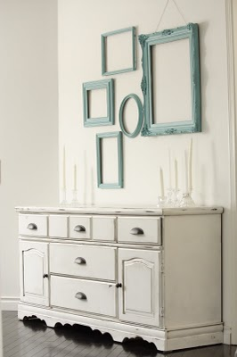 Decorating with empty frames updated with pics babycenter for What to do with empty picture frames