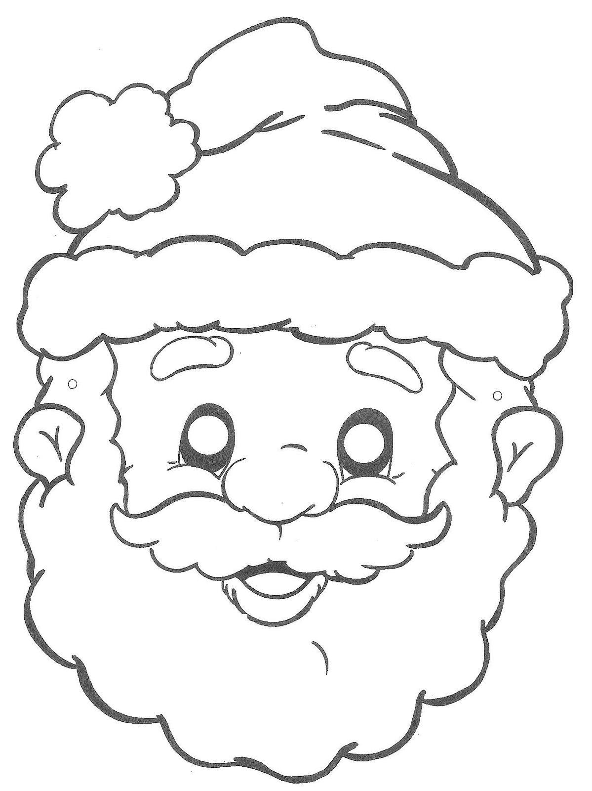Fresco Desenhos Para Colorir Do Papai Noel Grande Melhores Casas