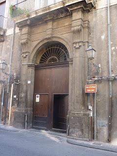 Catania, casa di Verga