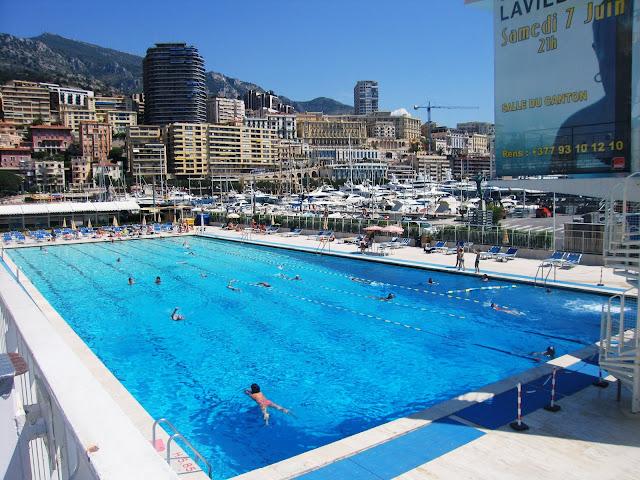 Swimming Public Pool Monaco