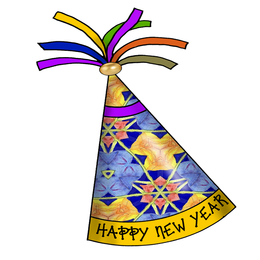 ArtbyJean - Paper Crafts: Happy New Year Party Hats ...