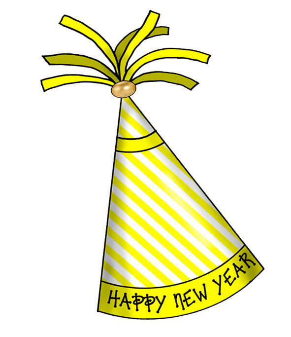 new year hat clipart - photo #3