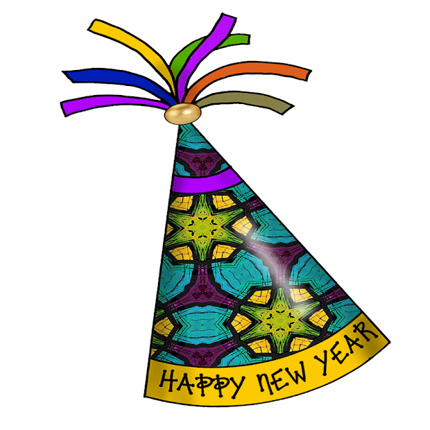 Happy New Year Party Hats Craft