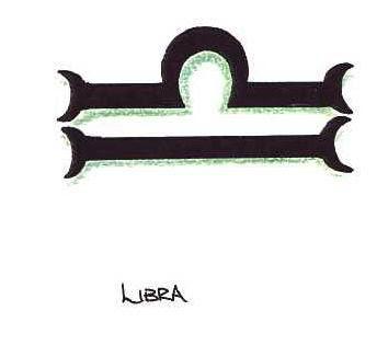Libra tattoo picture