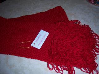 Esta bufanda la realicé en lana Jazmín puesta doble 17c5952a358
