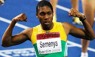 Caster Semenya photo by Andy Lyons/Getty Images