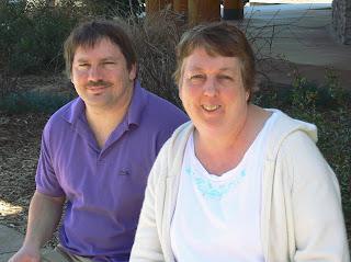 Mark Bazza and Angela Agostino