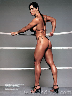 She could squeeze your *&$% off with her gluteous muscles