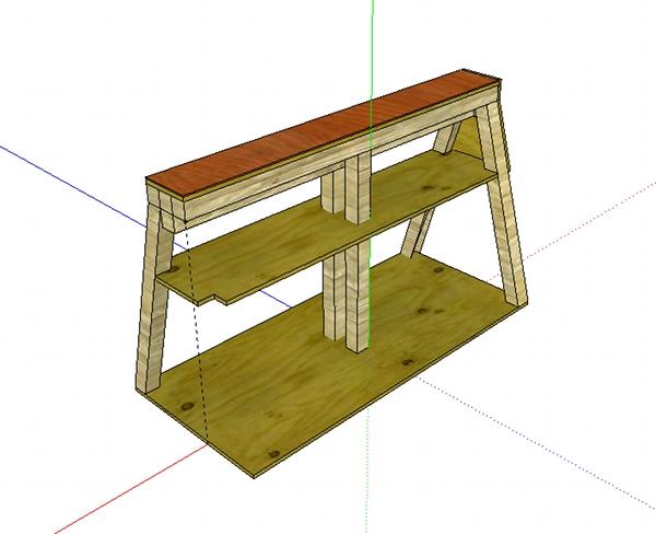 Dark Wood Bench Kitchen Table