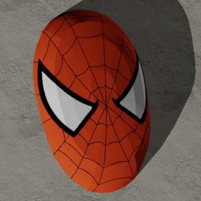 Marvel Papercraft - Spider-Man Mask