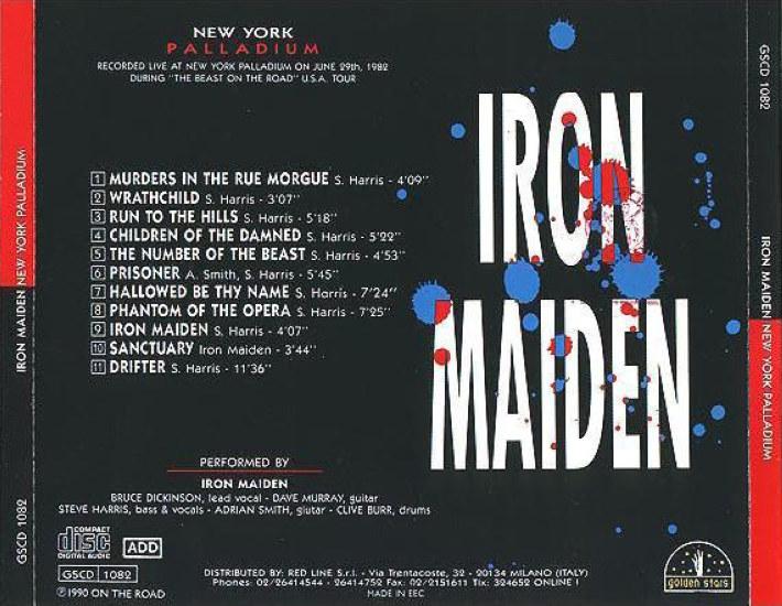 T U B E Iron Maiden 1982 06 29 New York City Ny