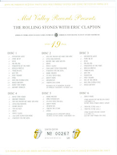 Rock And Pop Bootlegs Rolling Stones With Eric Clapton
