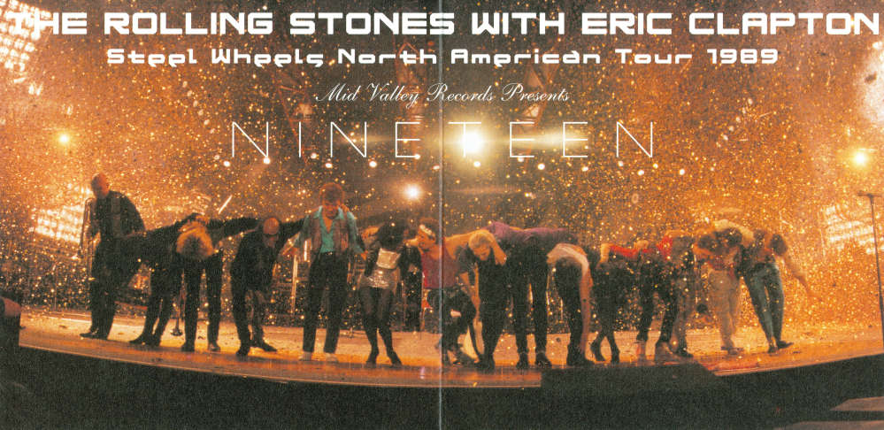 Rolling Stones With Eric Clapton And John Lee Hooker