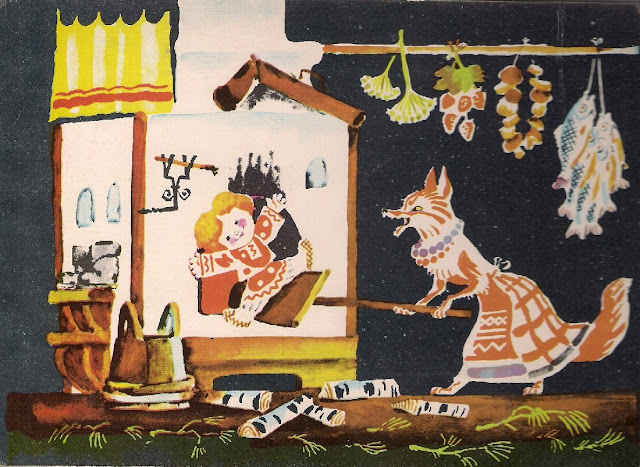 Zhiharka fox fairy tale folk