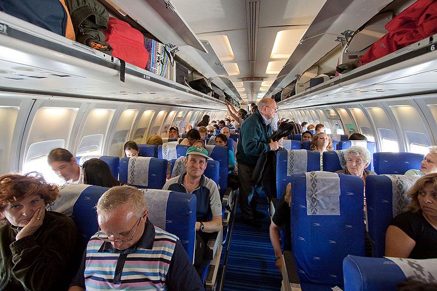 Leute im flugzeug kennenlernen