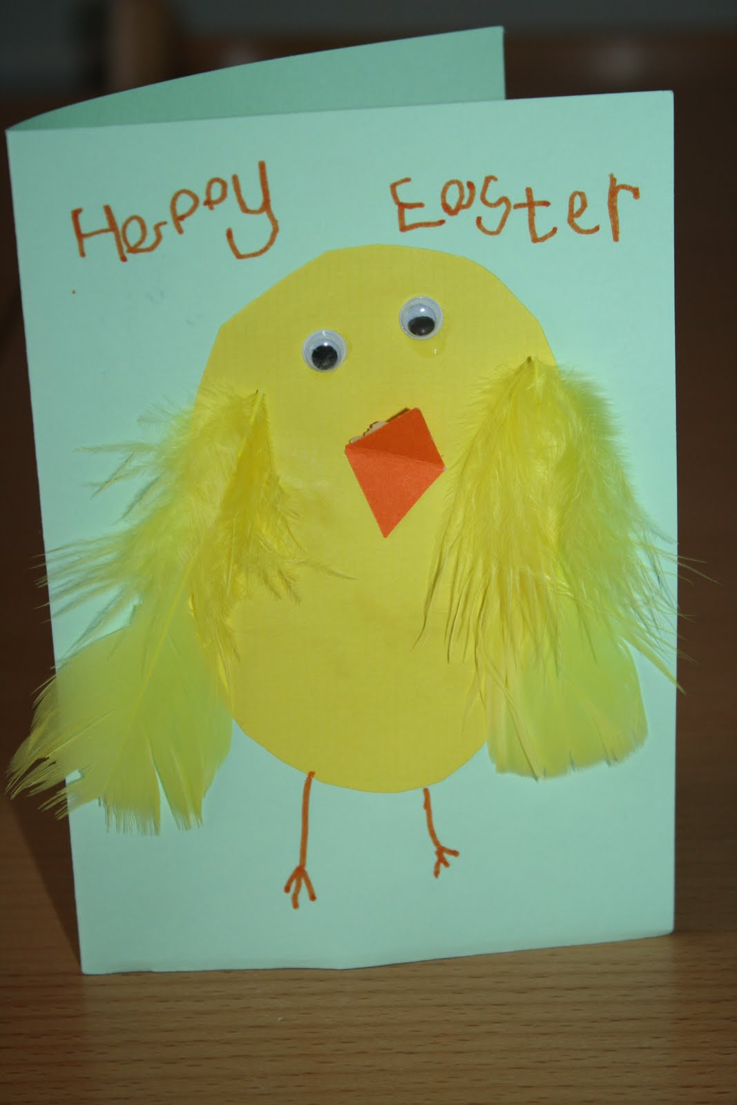 Easter Card Making Ideas Part - 48: Easter Card Crafts For Toddlers