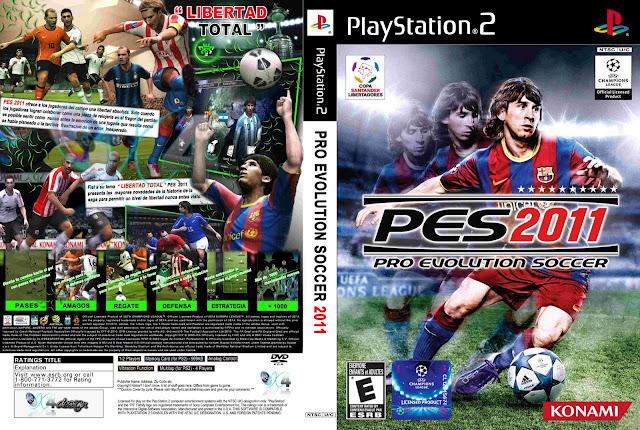 Capa PES 2011 PS2