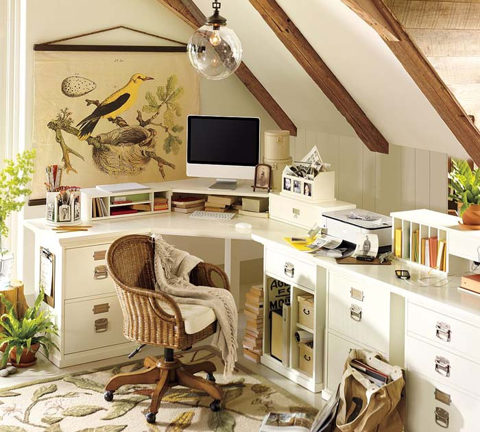 Pottery Barn Home Office Furniture Simple Interior Design Ideas