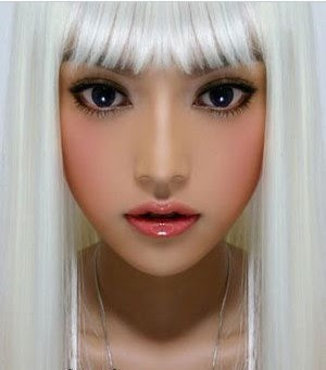 hairstyle  haircut 12 female star's ice sexy white hair