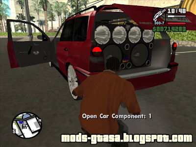 Vw Parati G4 1.8 2007 Edit para GTA San Andreas