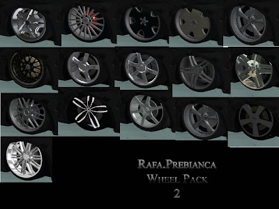 Rafa.Prebianca Wheel Pack 2 para GTA San Andreas