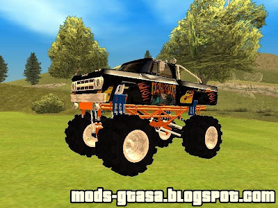 Dodge D100 Monster Truck para GTA San Andreas