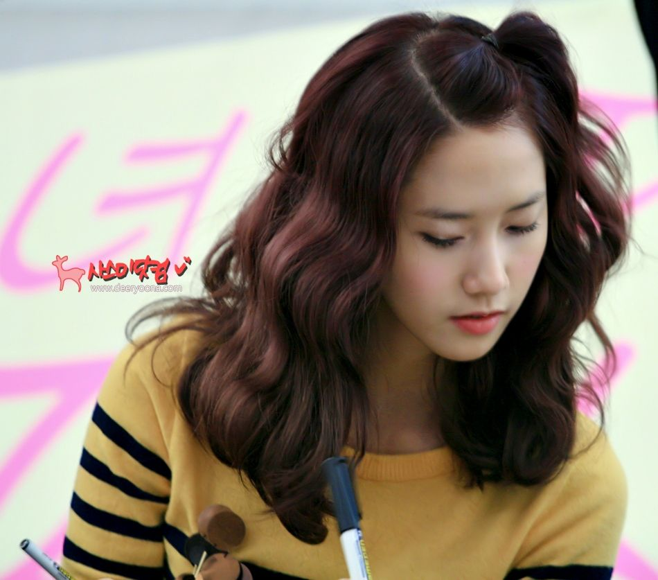 Super Pictures When Snsd Tied Up Their Hair Daily K Pop News Short Hairstyles For Black Women Fulllsitofus