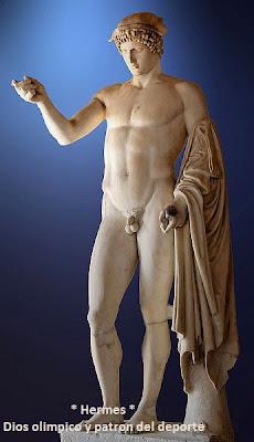Hermes, Dios olímpico
