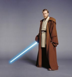 Hacer de sable láser Jedi