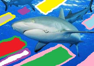 Pintura inspirada en escamas de tiburón