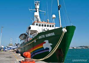 arctic sunrise greenpeace mexico