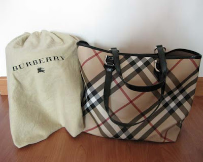 82723654df52 Item Name   Used Burberry Nova Check Tote. Items condition   Excellent like  .