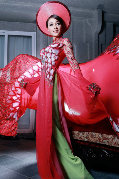 Ao Dai Vietnamese Dress