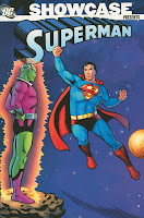 Showcase Presents Superman Volume One Otto Binder Bill Finger Jerry Coleman Robert Bernstein Alvin Schwartz Jerry Siegel Brainiac DC Comics Solicitations September 2010 Cover trade paperback tpb comic book