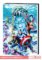 Atlantis Attacks Omnibus Mike Mayhew Don McGregor Peter David Doug Moench Howard Mackie Steve Englehart Gene Colan Jeff Purves Paul Gulacy Rich Buckler Mike McKone Marvel Solicitations October 2010 Cover hardcover hc comic book