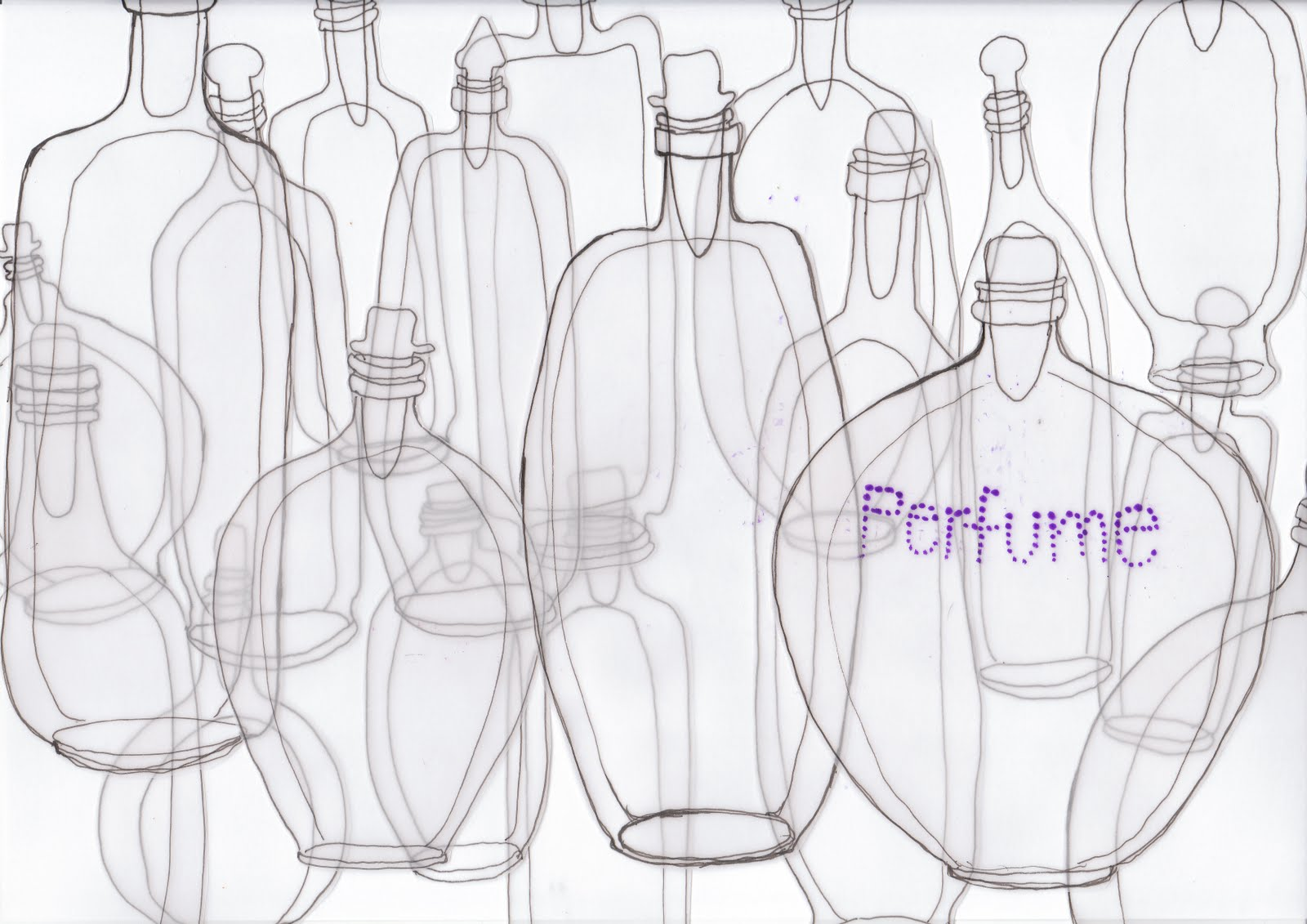 I hate butterflies: bottles, lots of bottles