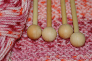 A knitting project with Waldorf Homeschooling