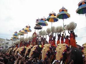 Thrissur Pooram Festival in Kerala