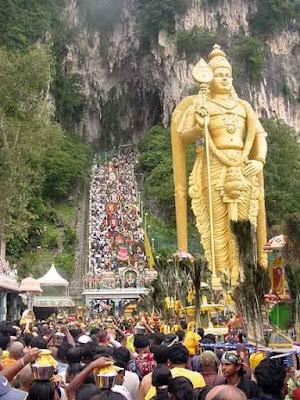 Thaipusam Festival at Batu Caves Murugan Temple