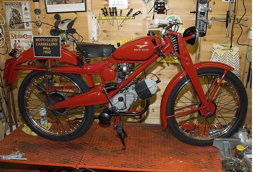 Moto Guzzi Cardellino 64cc 1954
