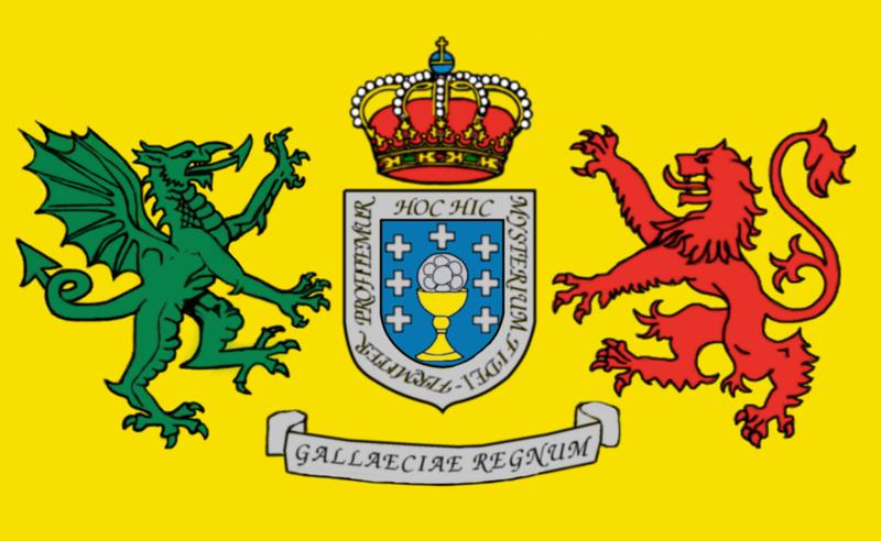 Escudo primer Reino de Galicia
