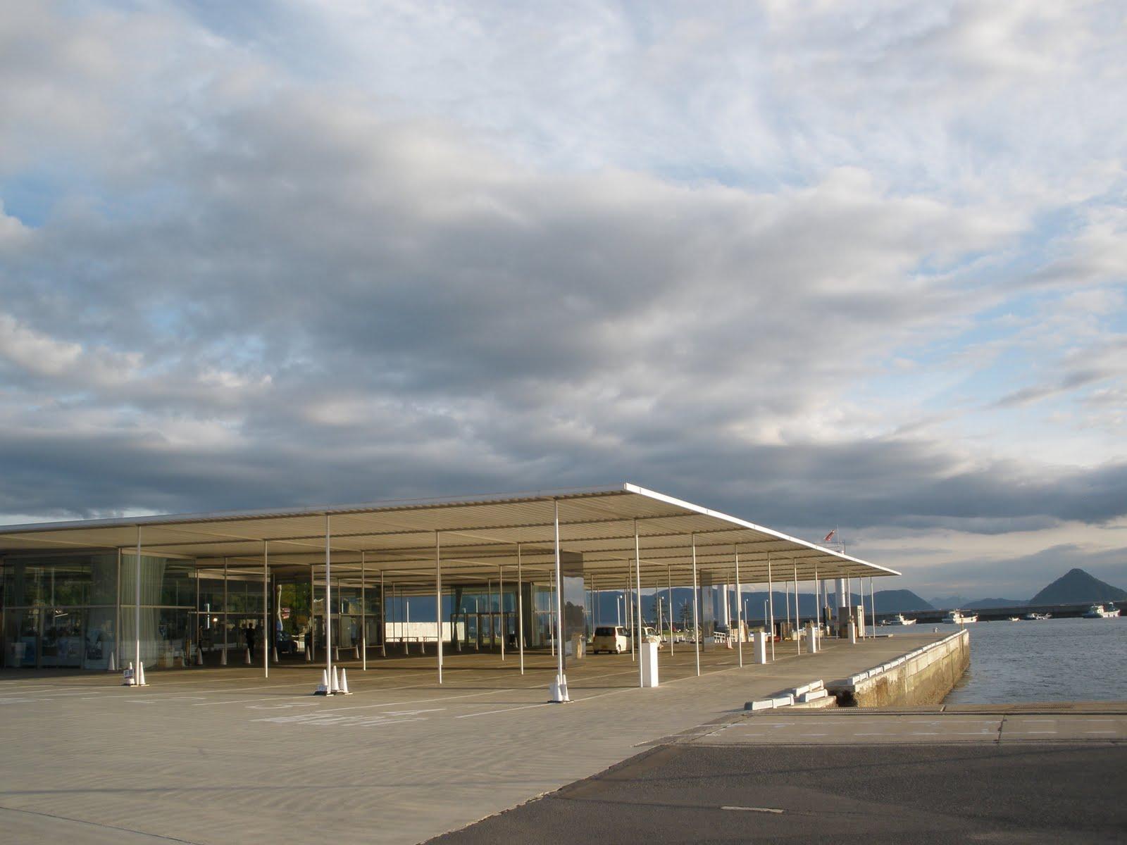 Sanaa Naoshima Ferry Forum Archinect