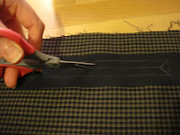 How to sew a double-welt pocket/Hoe naai je een paspelzak