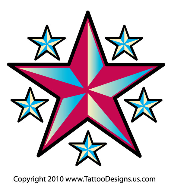 Tattoo Ideas With Stars: Tattoo Design