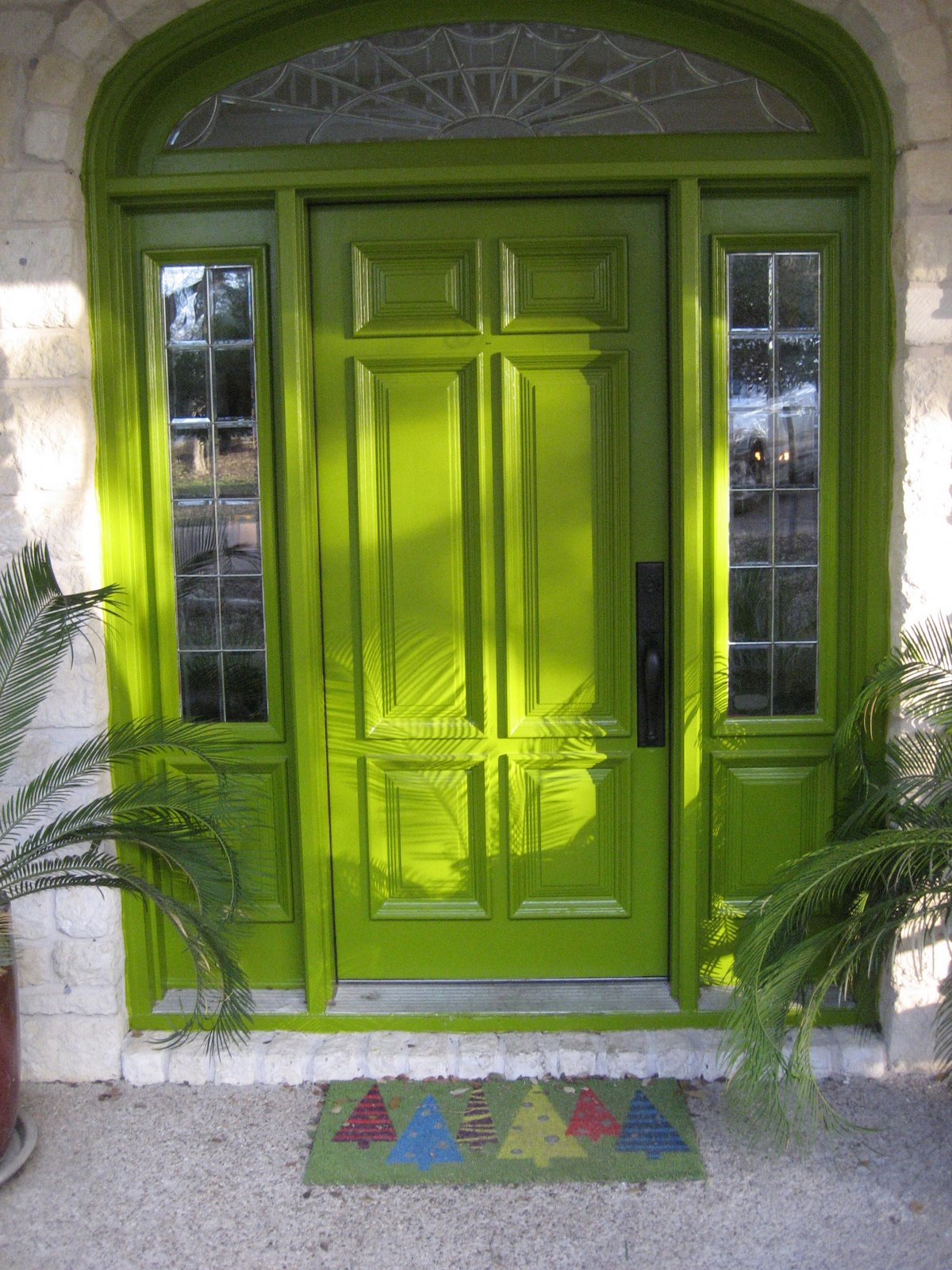 The fashion salad i love color - What color to paint front door ...