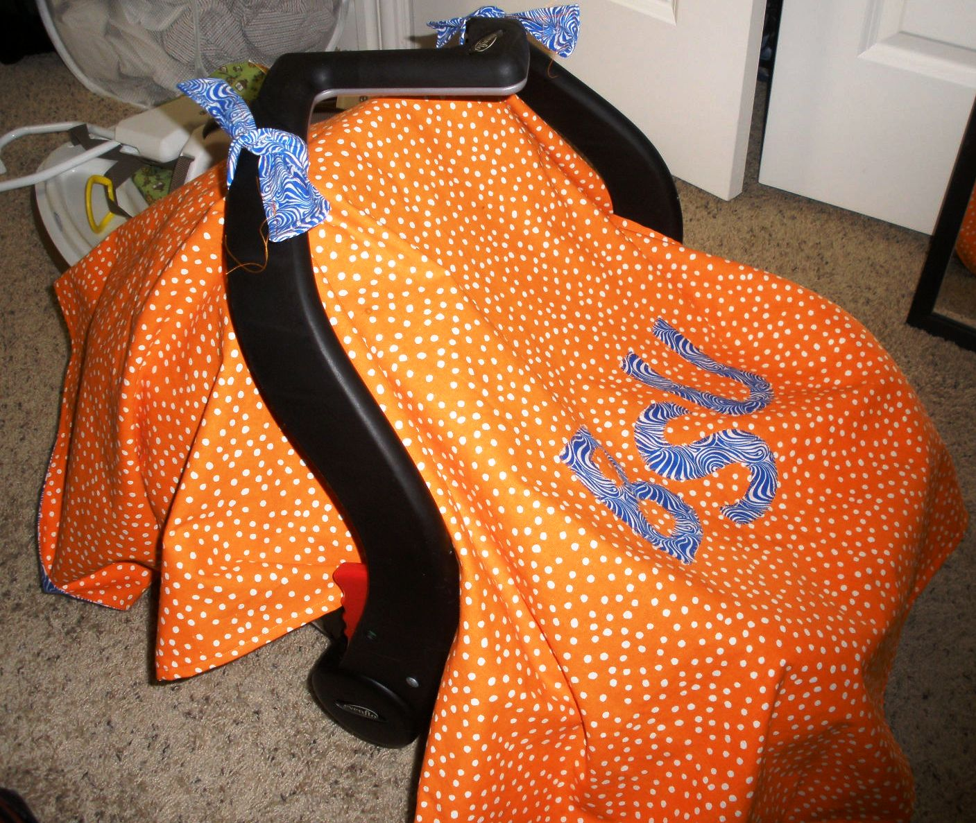 Quick Tips Sewing Tutorial Car Seat Canopy