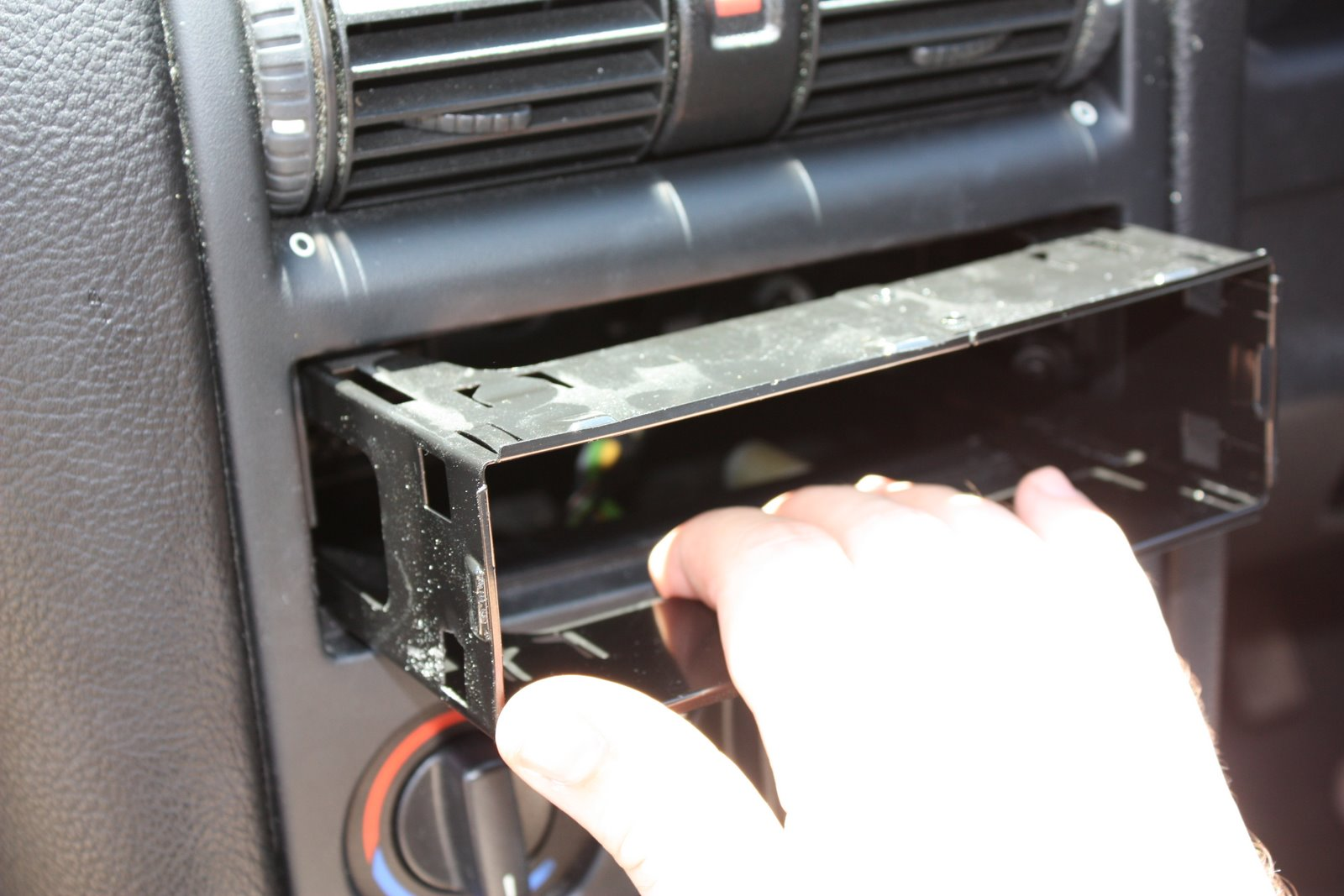 Installing a new car stereo head unit |