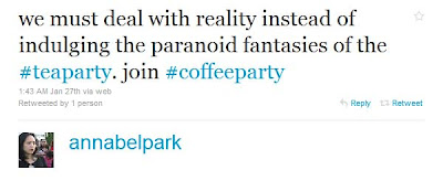 Coffee Party Founder Is Obama Campaign Operative Annabel+Park+ +Twitter+++++++