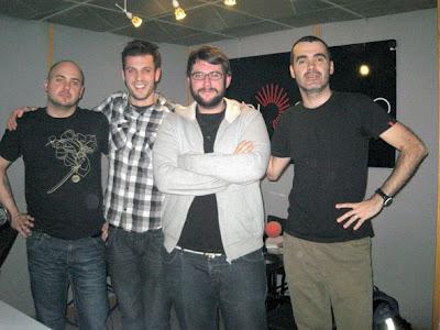 Con Víctor y Esteban de Toundra