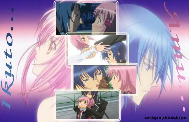 Kiss Amu Ikuto Tsukiyomi And